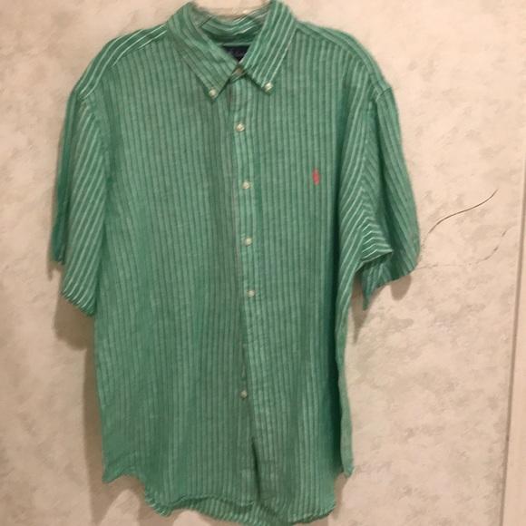 41e70a4ce813 Ralph Lauren Shirts | Mens Linen Shirt | Poshmark